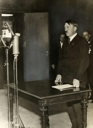 Hitler Announces Withdrawal from the League of Nations