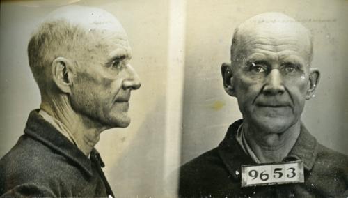 Eugene Debs Convict 9653