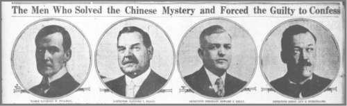 Superintendent Pullman and the lead detectives involved